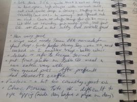 Cooking Event Journal